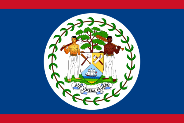 Flaga Belize
